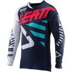 Leatt Camisola Gpx 5.5 Ultraweld Ink / Blue / White / Red