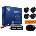 Kit 4 Sensores de Estacionamento para Automóvel - ef18e0111ce