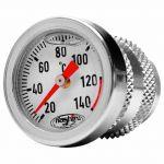Hashiru Oil Temperature Dipstick M30 Silver - 60120110180