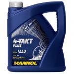 MANNOL Óleo Moto 4-Takt Plus API SL 10W-40 4L