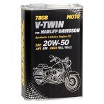 MANNOL Óleo Moto 7808 V-TWIN for Harley-Davidson 20W-50 METAL 1L