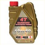 1Power-One Óleo Moto Nipomix 4T Carbono 10W-40 1L