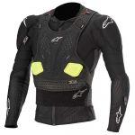 Alpinestars Protecção Corporal Bionic Tech V2 Black Yellow Fluo S