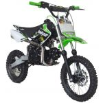 Malcor Pit Bike 4T 10CV 125CC XZ1 Verde - XZ1-VRD