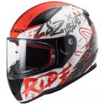 ls2 Capacete Ff353 Rapid Naughty White / Red M