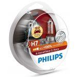 Philips 2x Lâmpadas H7 X-treme Vision G-FORCE +130 - 12972XVGS2