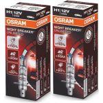 Osram 2x Lâmpadas Night Breaker Unlimited H1 55W 12V P14.5s - 64150NBU-02