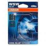 Osram Lâmpadas Cool Blue Intense 5W 12V W2.1x9.5d W5W - 2825HCBI-2