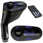 ProFTC Transmissor Auto LCD FM c/ MP3-SD-USB e Comando - FMTRANS-6010