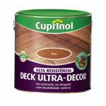 Robbialac Cuprinol Deck Ultradecor Mogno 2,5L