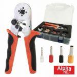 Alpha Kit Alicate de Cravar com Terminais Ponteira AWG10-23 - 98-119K