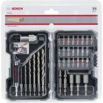 Bosch Bit- + Wood Drill 35 Pcs - 2607017327