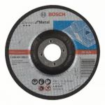 Bosch Disco de Corte Curvo 125mm X 2.5 Standard Metal