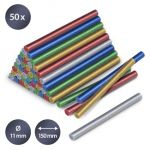 Trotec Sticks de Cola Brilhante, 50 Unidades (Ø 11 mm)