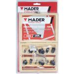Mader Kit Fresas Mpt-6mm 12 Peças - 63441