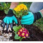 InnovaGoods Luvas de Jardinagem com Garras para Cavar