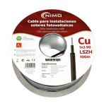 Nimo Bobine Cabo para Sistemas Fotovoltaicos em Cobre 1x 2,5mm² Preto (100 Mts) - WIR9181