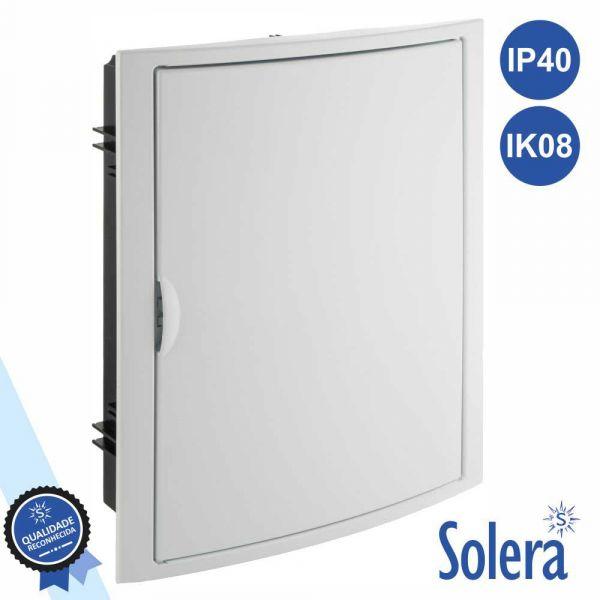 Solera Caixa Distribuição Elétrica 28 Elementos IP40 IK08