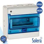 Solera Caixa Distribuição Elétrica 6 Elementos IP65 IK08