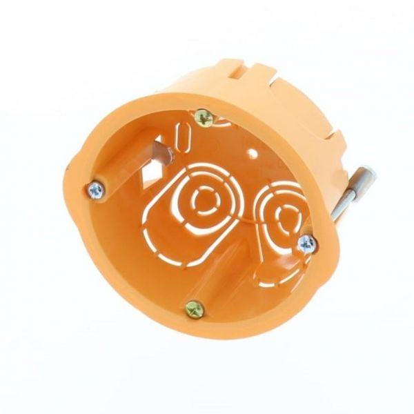 Aprestos Caixa P/Pladur Simples Ø67x39mm Laranja - 2253255F10