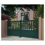Gardengate Portão de Alumínio Cairo 3X1.25M Branco - 16502486