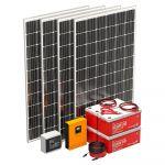 Xunzel Kit Solar Fotovoltaico Pack Zero+ XUNZEL-AD3900-1-IXS - 82649932