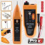 ProK Electronics Testador De Cabos E Continuidades Com Gerador De Tons