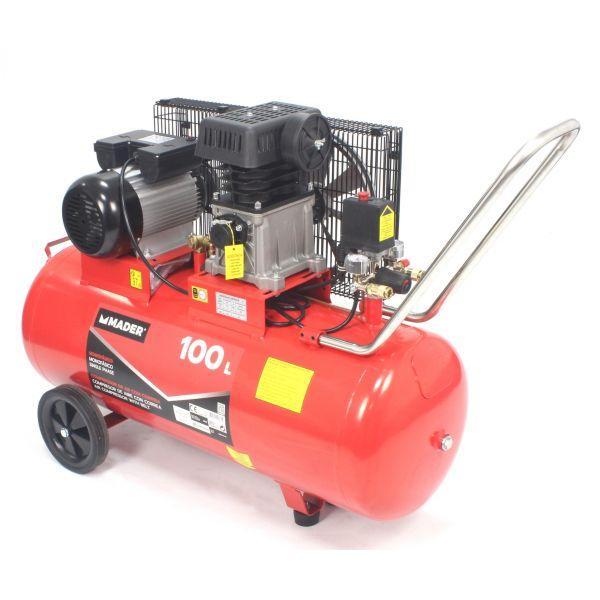 Mader Compressor Ar Correia 100l 3HP - 09360