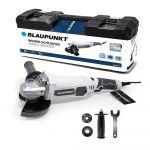Blaupunkt Rebarbadora Angular Elétrica 125mm BP3035 1200W + Mala de Tranporte