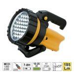 JBM Lanterna De Mão De 37 LEDs Com Asa Giratória 52002