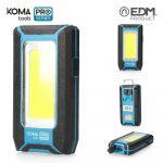 EDM Koma Lanterna Led COB 500Lumen 8W - 36444