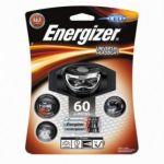 Energizer Lanterna Headlight LED Frontal de Cabeza con 3 pilhas AAA, 60 lúmenes - E300640701