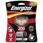 Energizer Lanterna Frontal de Cabeza, Headlight LED Vision HD, 200 lúmenes, 3 pilhas AAA - E300280502