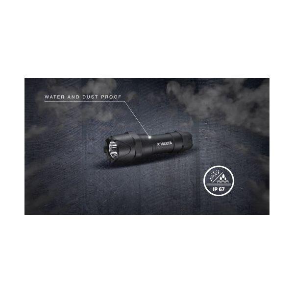 Varta Lanterna Indestructible F10 Pro 6 Watt led Aluminium 300 Lumen 18710 101