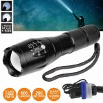 Well Lanterna com 1 led Xpe 10w 5 Níveis Luz Zoom 600lm Torch-space - TORCH-SPACE