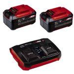 Einhell Bateria Twin Charger Power-X-Change + 2 Baterias 5.2Ah