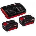 Einhell Power-X-Change 18V 2x 3,0Ah & Twincharger Kit