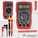 Velleman Multímetro Digital Cat II 500v/Cat III 300v - DVM841