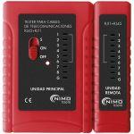 Nimo Testador de Rede RJ11, RJ12, RJ45 - TES010