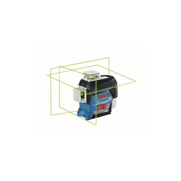 Bosch Nível Laser Autonivelante GLL 3-80 CG c/bolsa e Lboxx BOSCH - 0.601.063.T00
