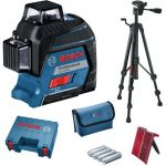 Bosch Laser autonivelante Vermelho c/Tripé GLL 3-80