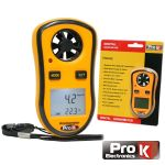 ProK Electronics Anemometro e Medidor de Temperatura - AND030A