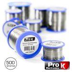 Prok Electronics Solda 1MM 60/40 500G