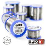 Prok Electronics Solda 1MM 60/40 100G