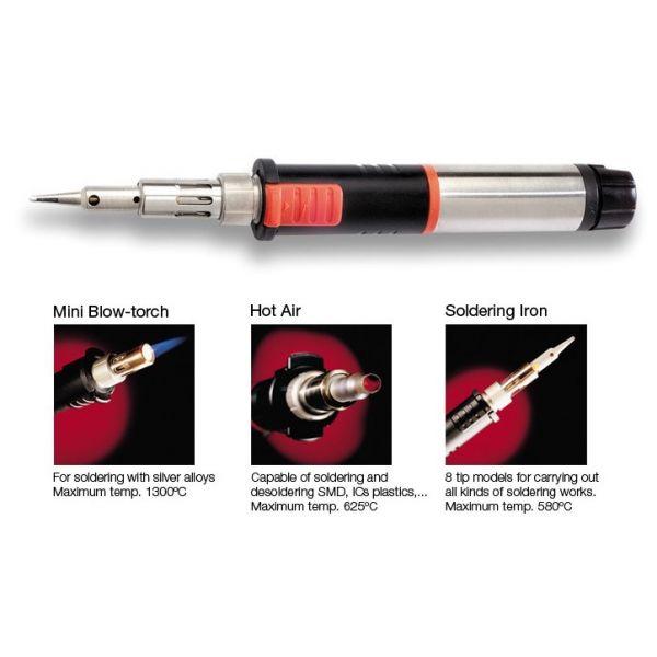 JBC Ferro de Soldar a Gas 25-125W SG1070 0201070