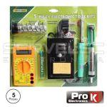 Prok Electronics Kit Soldadura com 5 Peças