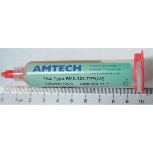 Amtech Fluxo em Pasta RMA-223 para soldar Seringa 10cc