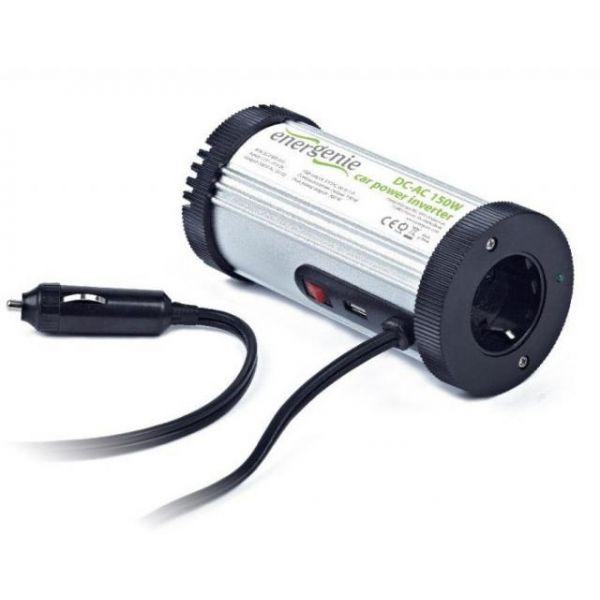 Energenie Conversor EG-PWC-031 - 12-220V 150W c/ USB