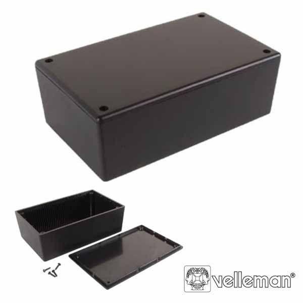 Velleman Caixa Montagem Plastico 85x55x30mm Preto WCAH2855