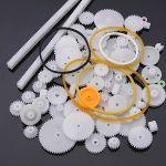 Pack de Rodas Dentadas de Plástico para Robótica - ef17b0401ok